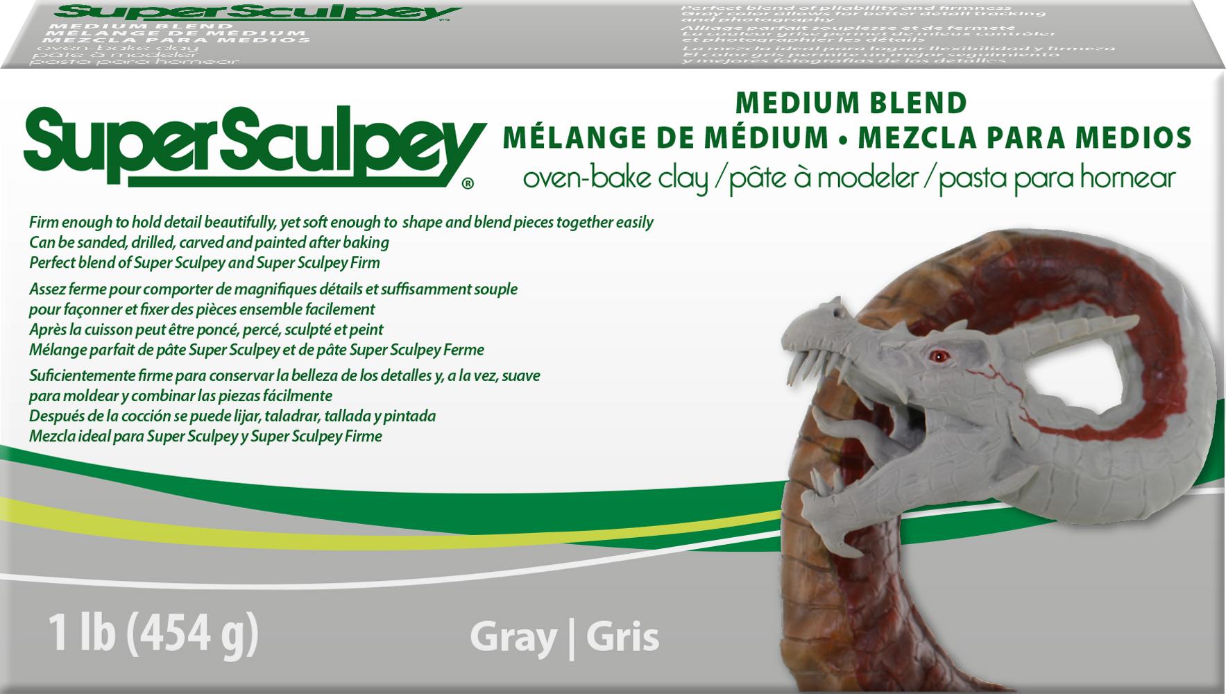 SuperSculpey Medium Blend