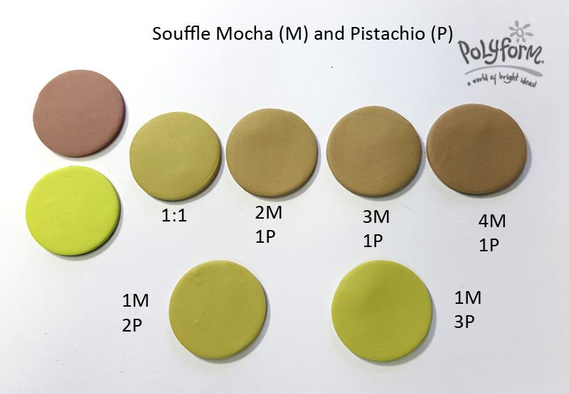 pistachio mix souffle